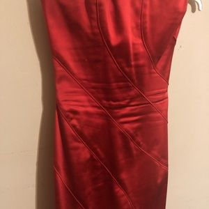 bebe Dresses - Bebe Red special occasion form fitting dress